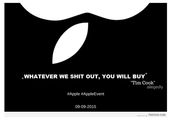 Apple event -Tim Cook-