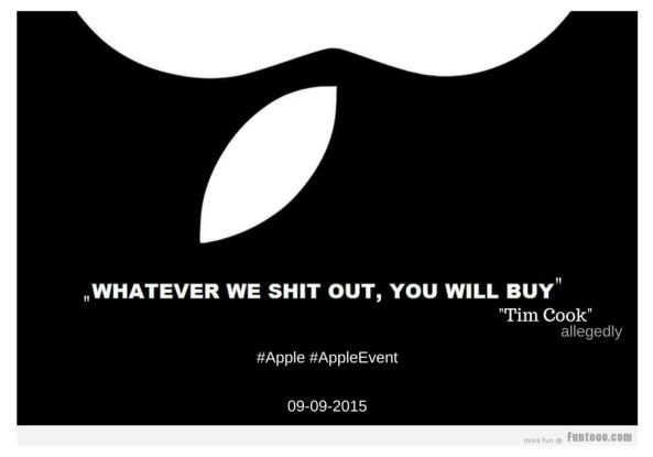 Apple event -Tim Cook-