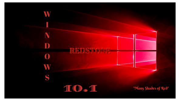 Windows 10.1 Codename: Redstone