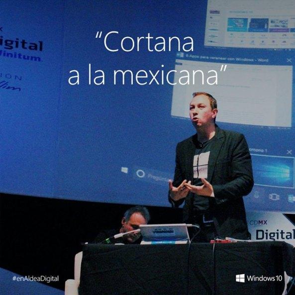 ¡Ajúa! ¡Legal!Cortana, la asistente virtual de Microsoft, ahora hablará con los acentos y palabras usadas por la gente de México !