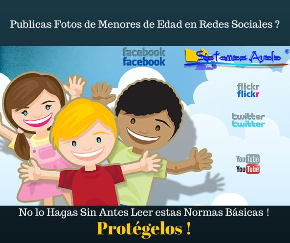 Menores de Edad en Redes Sociales